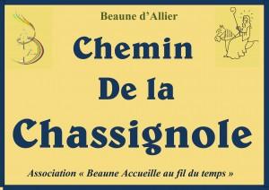 Chemin de la Chassignole