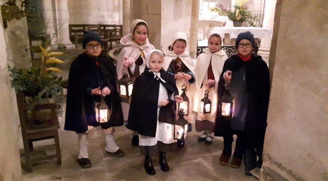 Concert dans l'église le            2 décembre avec  le chœur la Chavannée
